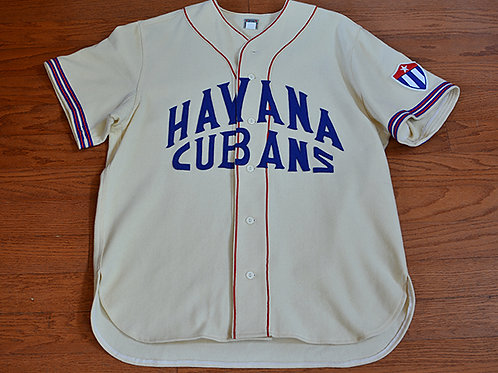 Ebbets Field Flannels Havana Cubans Jersey (1947)
