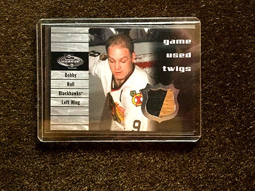 Bobby Hull Game Used Twigs Card