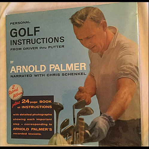 60s Arnold Palmer Golf Instructions Double Record