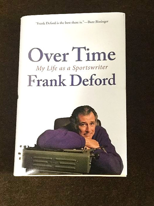Frank Deford Signed Autobiography