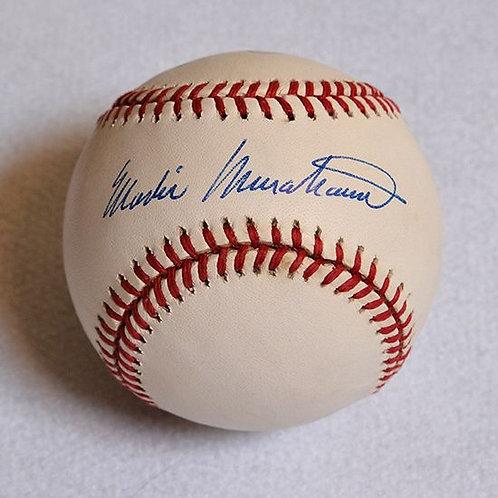 Masanori Murakami Signed Baseball