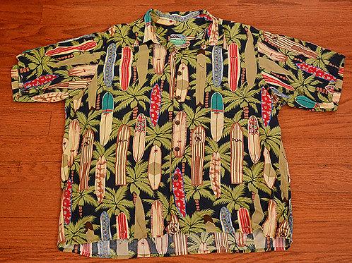 Reyn Spooner Surfboard Hawaiian shirt