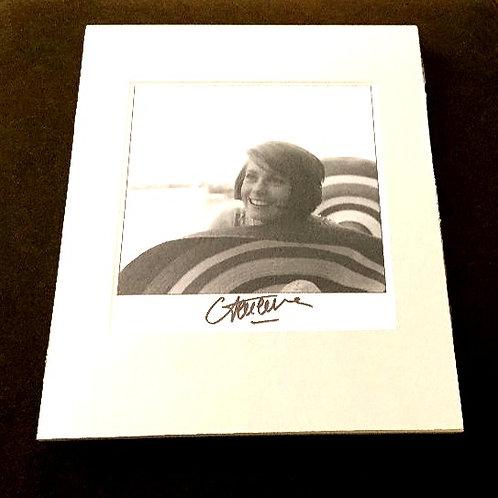 Catherine Deneuve Signed and Matted Photo
