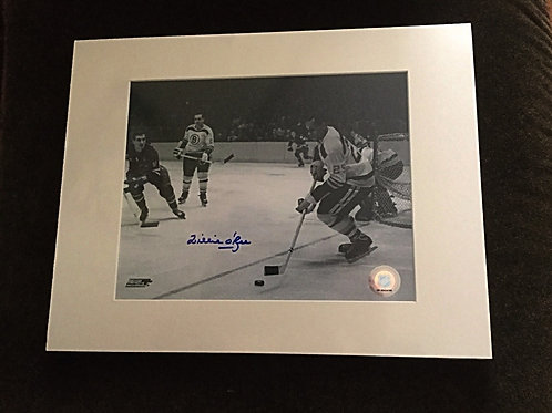 Willie O'ree signed 8x10