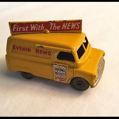 Matchbox Evening News Van