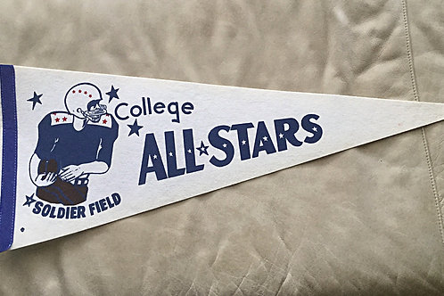 1972 College All Stars Pennant