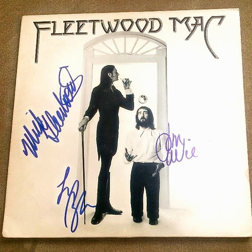 Fleetwood Mac LP Signed By 3