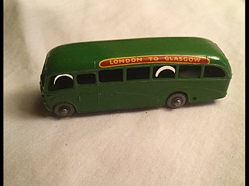Matchbox London to Glasgow Bedford Coach