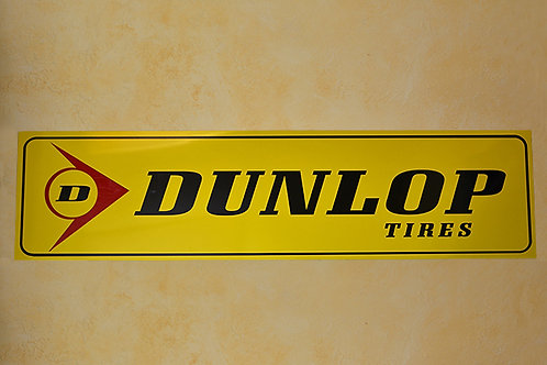 Replica Dunlop Tires sign
