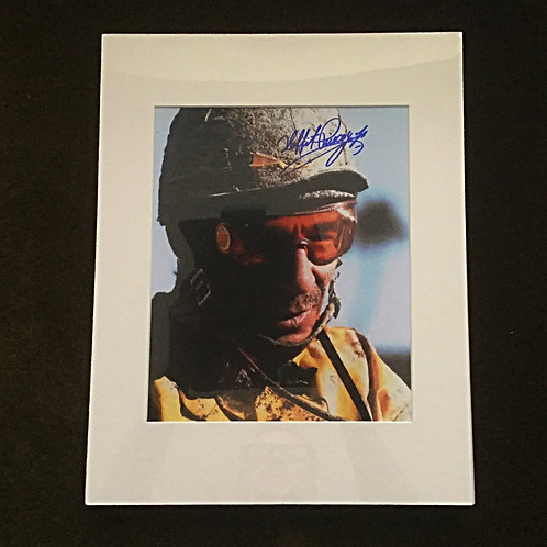 Laffit Pincay Jr Signed and Matted 8x10