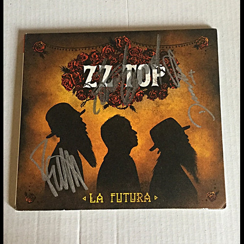 ZZ Top Signed CD