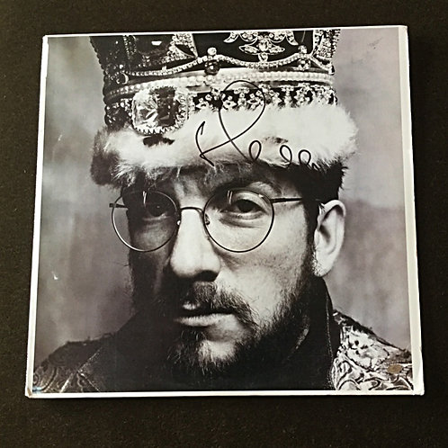 Elvis Costello Signed LP