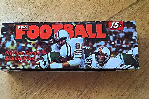 1974 Topps Football Card Box