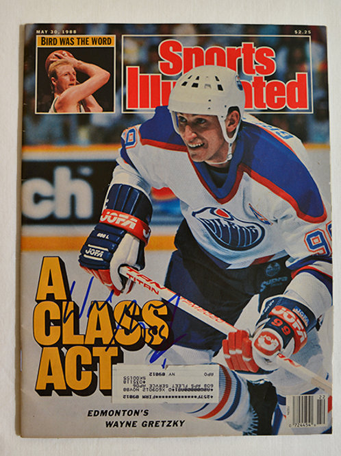 Wayne Gretzky signed Sports Illustrated
