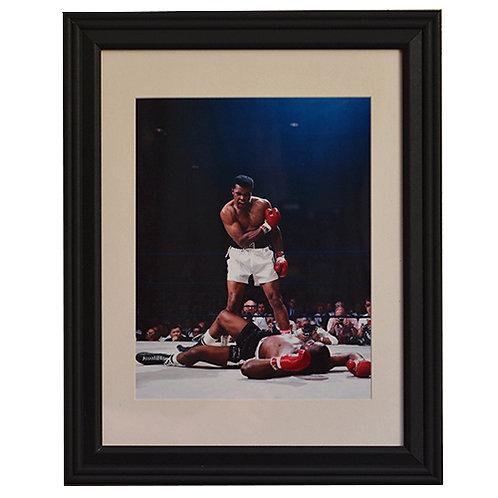 Ali Over Liston Framed Photo (Phantom Punch)