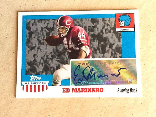 Ed Marinaro Signed Topps All American