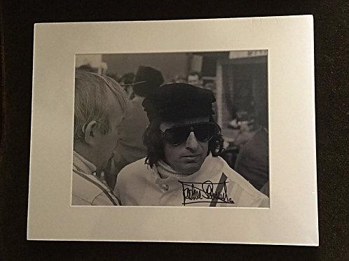 Jackie Stewart signed 8x10