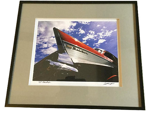 Framed 57 Chevy