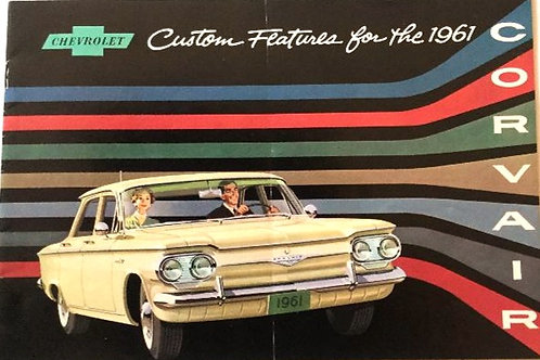 1961 Corvair Booklet/Brochure