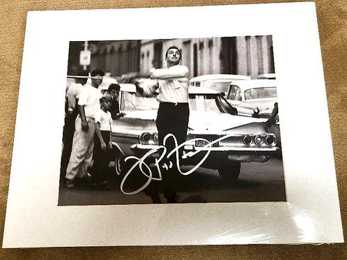 Joe Pepitone Signed and Matted Photo