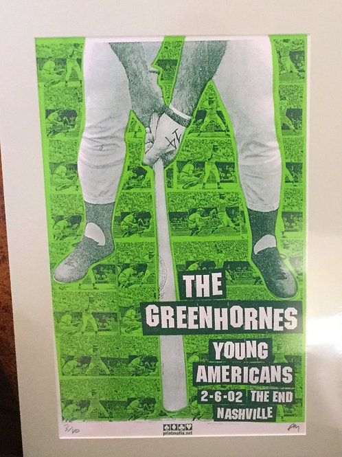 Greenhornes Rock Poster