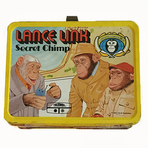 1971 Lance Link Secret Chimp Lunchbox