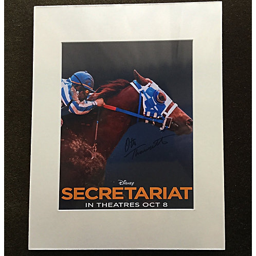 Otto Thorwarth signed 8x10 Secretariat photo