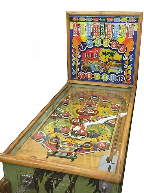 Vintage United Pinball machine