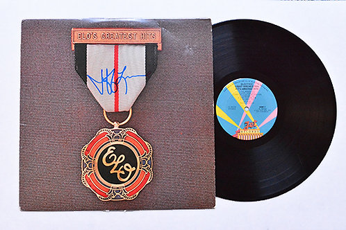 Jeff Lynne Signed ELO Greatest Hits Album