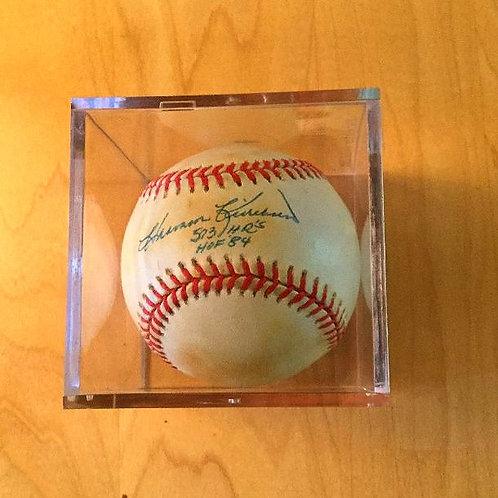 Harmon Killebrew Autographed AL Baseball