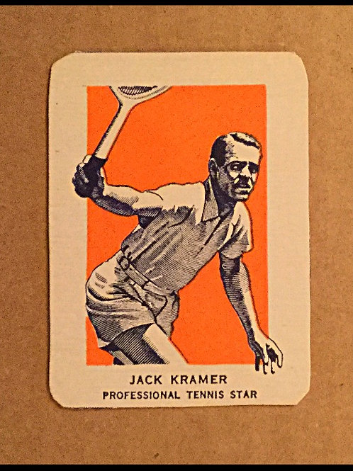 1952 Wheaties Jack Kramer Card