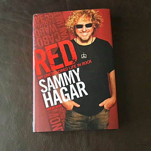 Sammy Hagar signed Autobiography