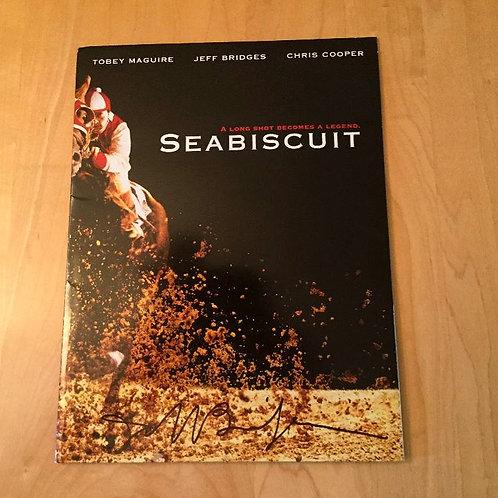 Jeff Bridges Autographed Seabiscuit Media Kit