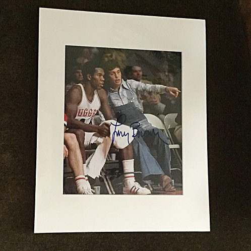 Coach Larry Brown Autographed Photo