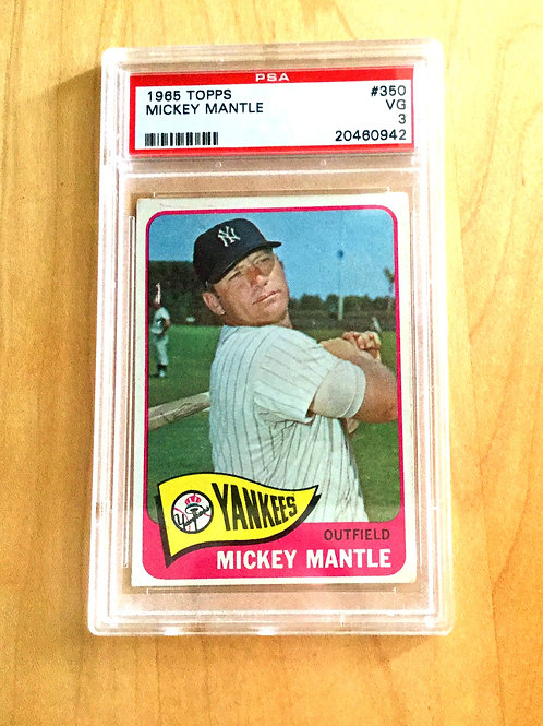 65 Topps Mickey Mantle