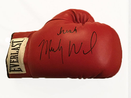 Irish Mickey Ward signed Boxing Glove