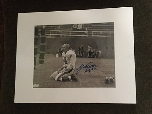 Y.A. Title signed 8x10