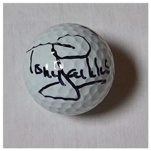 Tony Jacklin signed golf ball