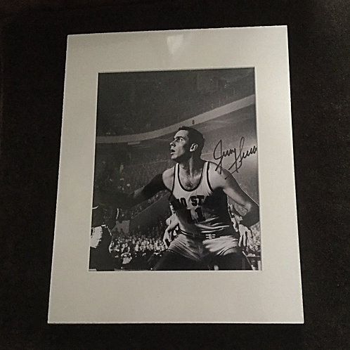 Jerry Lucas signed  8x10 black and white