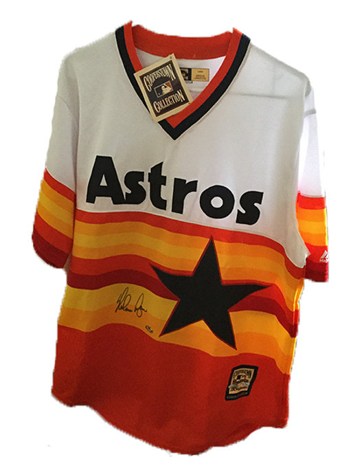 Nolan Ryan Throwback Astros Jersey