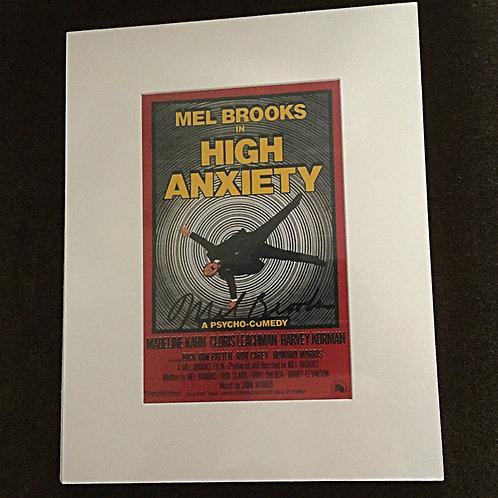 Mel Brooks signed photo