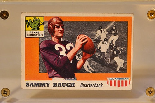 1955 Topps All American Sammy Baugh