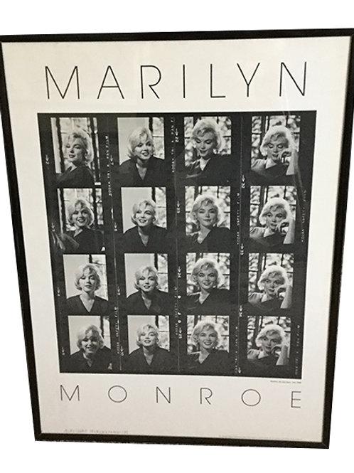 Marilyn Monroe framed photo print