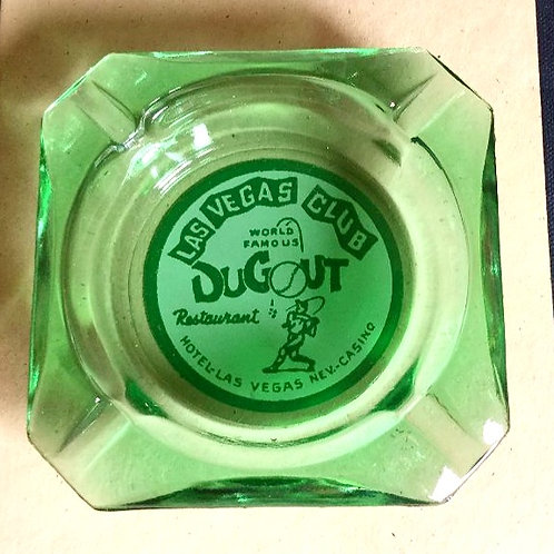Vintage Dugout Restaurant Ashtray