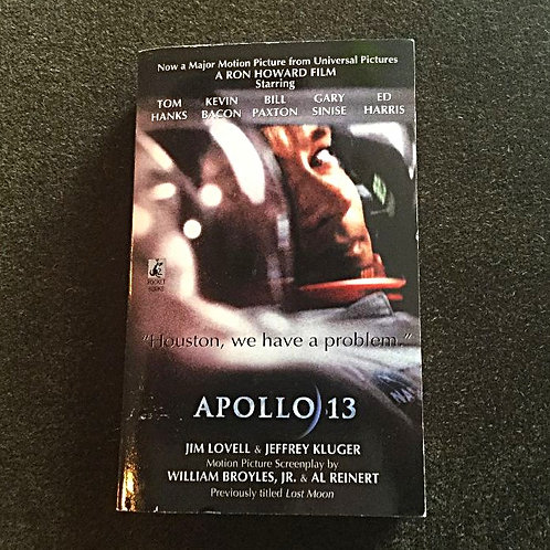 Apollo 13 Novel Signed by Jim Lovell
