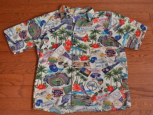 Dodgers Reyn Spooner Hawaiian Shirt