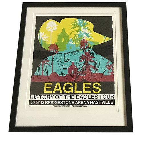 Eagles Tour Poster Framed