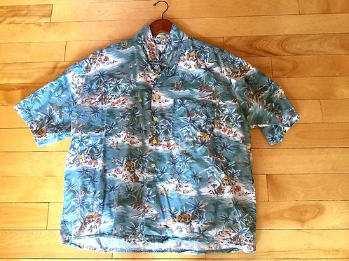 Vintage J Crew Hawaiian Shirt