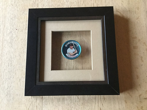 Mickey Mantle framed 1964 Coin