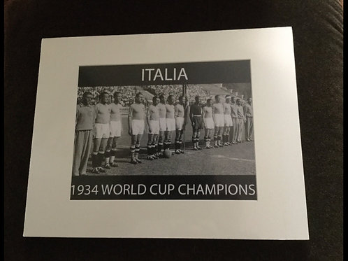 8x10 photo of World Cup Champs Italy